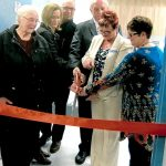 ribbon cutting ct scanner